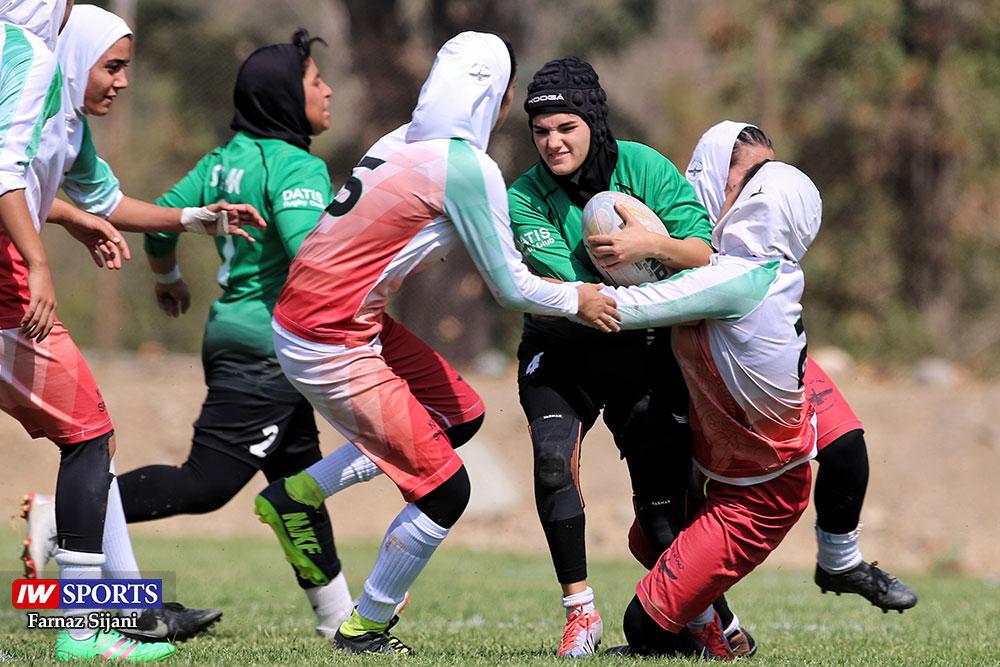 گزارش تصویری | مسابقات راگبی بانوان کشور در تهران