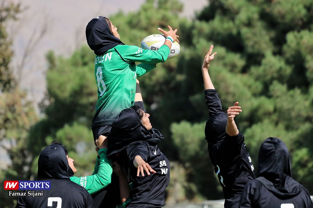 مسابقات راگبی بانوان قهرمانی کشور 25 1000x667 گزارش تصویری | مسابقات راگبی بانوان کشور در تهران
