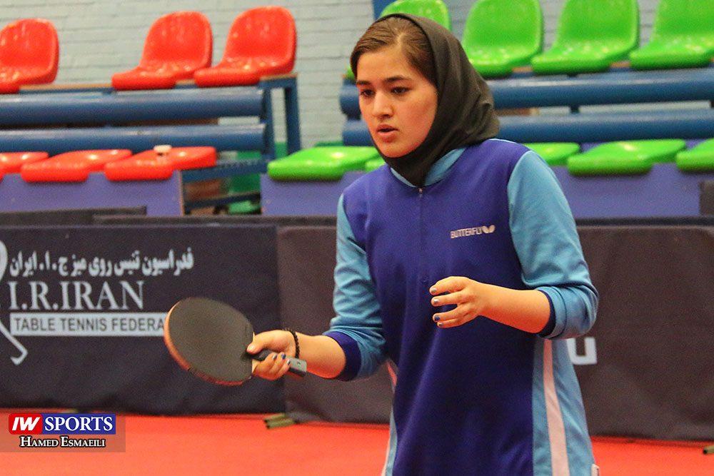 ملیکا کرمی در تمرین تیم ملی تنیس روی میز 1000x667 گزارش تصویری   شور و انرژی در تمرین تیم ملی تنیس روی میز