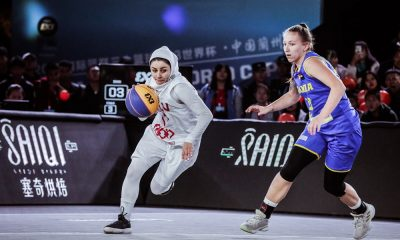 ناهیده اسدی تیم ملی بسکتبال سه نفره زیر 23 سال 400x240 جام جهانی بسکتبال سه نفره زیر ۲۳ سال | پیروزی ایران برابر اوگاندا و شکست برابر رومانی