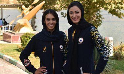 هانیه خورسند نازنین رحمانی 400x240 قایقرانی رویینگ قهرمانی آسیا | دختران قایقران ایران فینالیست شدند