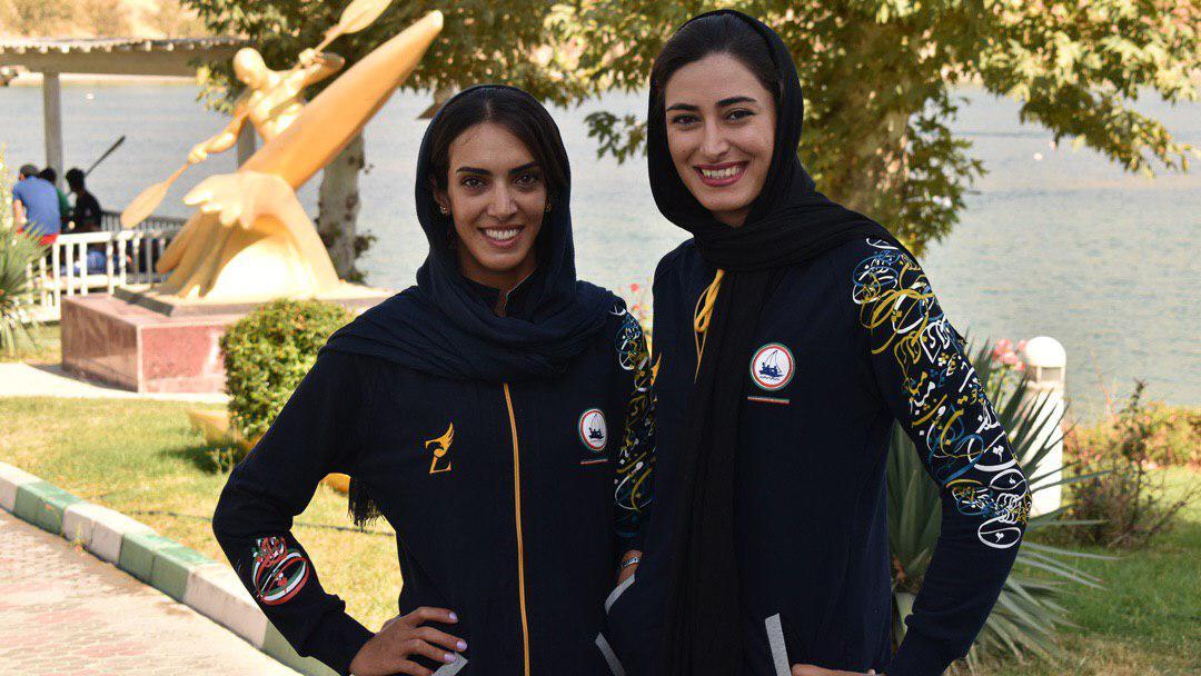هانیه خورسند نازنین رحمانی قایقرانی رویینگ قهرمانی آسیا | دختران قایقران ایران فینالیست شدند