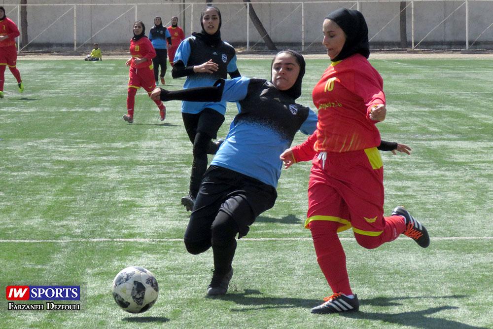 گزارش تصویری | دیدار زاگرس شیراز و پارس جنوبی بوشهر در لیگ برتر فوتبال بانوان