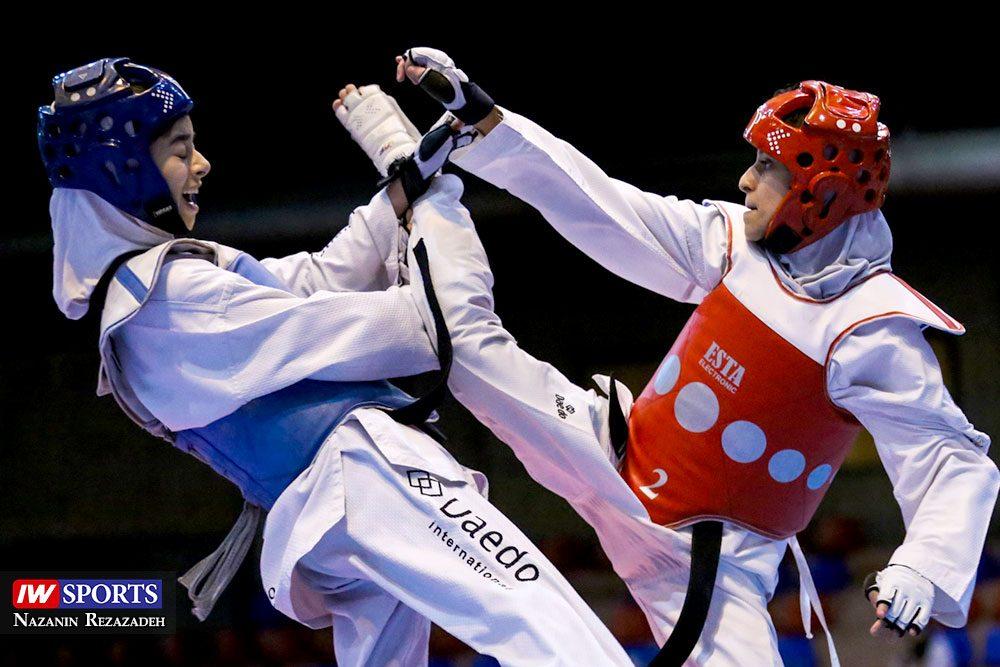 هفته اول و دوم لیگ تکواندو بانوان Iran Womens Taekwondo K League 12 1000x667 گزارش تصویری | هفته اول و دوم لیگ تکواندوی بانوان جام کوثر