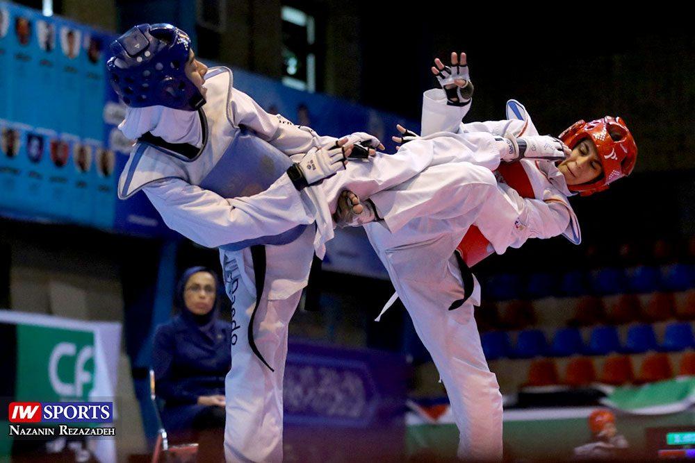 هفته اول و دوم لیگ تکواندو بانوان Iran Womens Taekwondo K League 13 1000x667 گزارش تصویری | هفته اول و دوم لیگ تکواندوی بانوان جام کوثر