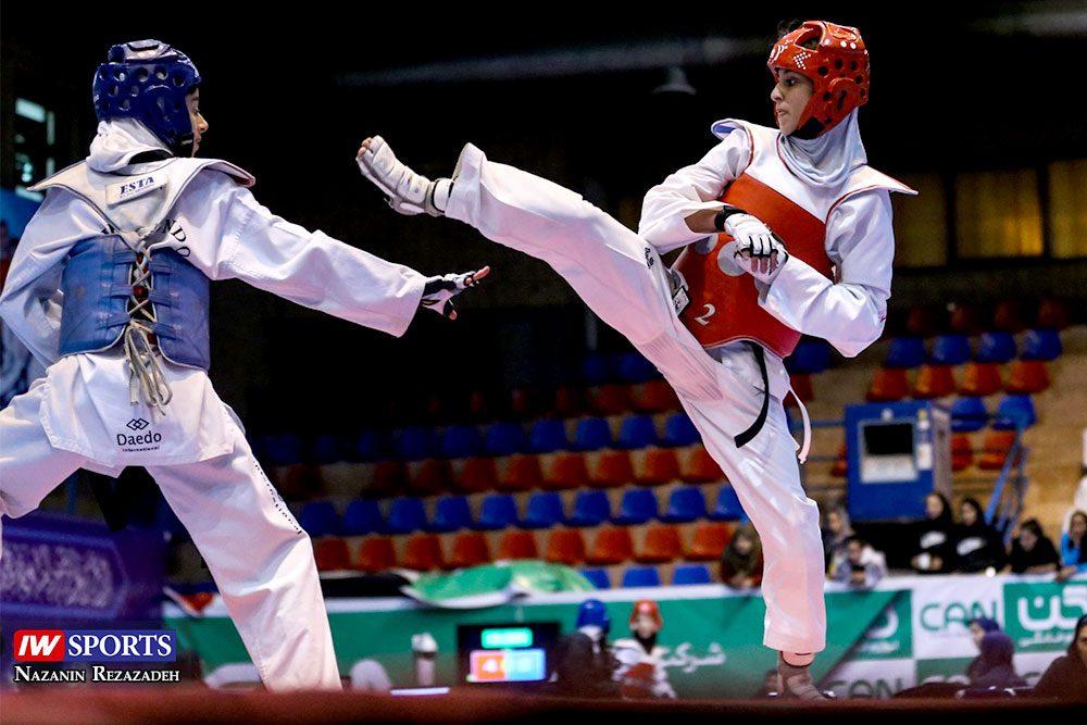 هفته اول و دوم لیگ تکواندو بانوان Iran Womens Taekwondo K League 15 1000x667 گزارش تصویری | هفته اول و دوم لیگ تکواندوی بانوان جام کوثر