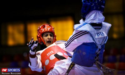 هفته اول و دوم لیگ تکواندو بانوان Iran Womens Taekwondo K League 6 400x240 لیگ تکواندو | پیروزیهای متوالی دانشگاه آزاد در روز غیبت مدعیان قهرمانی