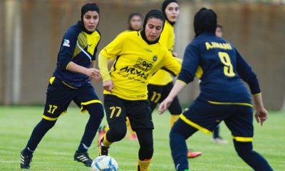 13980626000031 Test PhotoN 400x240 لیگ برتر فوتبال بانوان در ایستگاه سوم   مصاف آذرخش و ملوان در کردستان