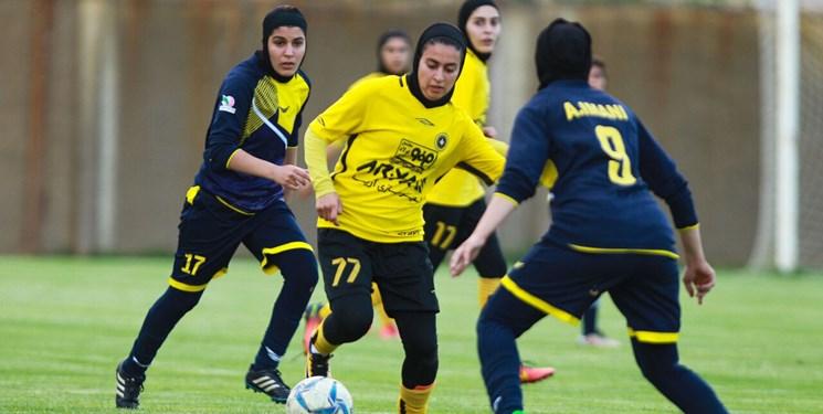 لیگ برتر فوتبال بانوان در ایستگاه سوم | مصاف آذرخش و ملوان در کردستان