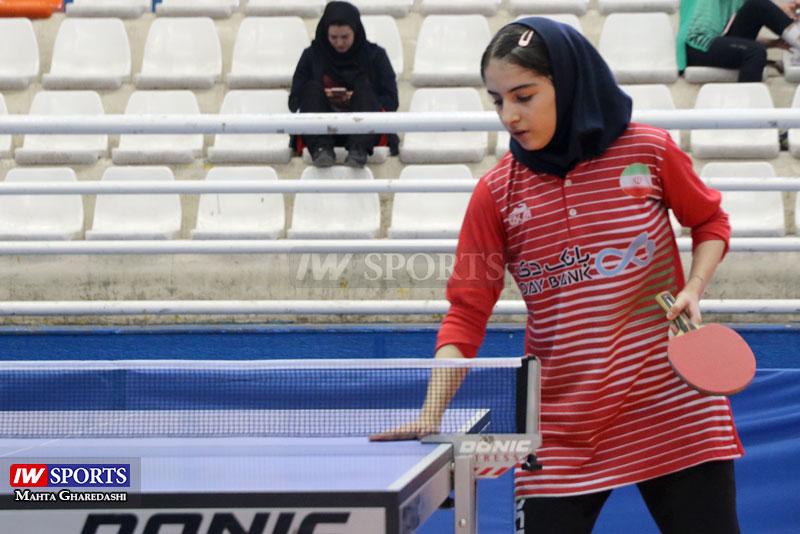 تور تنیس روی میز بزرگسالان کشور در مشهد آبان ۹۸ 3 دور سوم تور تنیس روی میز در کرج | قهرمانی مریم فرعی و سلطه مطلق میزبان