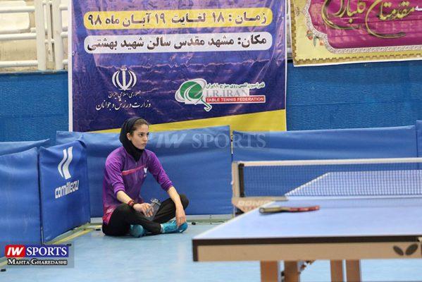 تور تنیس روی میز بزرگسالان کشور در مشهد آبان ۹۸ 9 599x400 گزارش تصویری | مرحله دوم تور تنیس روی میز بانوان در مشهد