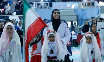 تکواندو نوجوانان دختر کشور در بابلسر آناهیتا توکلی 400x240 تصاویر مسابقات تکواندوی نوجوانان دختر کشور در بابلسر
