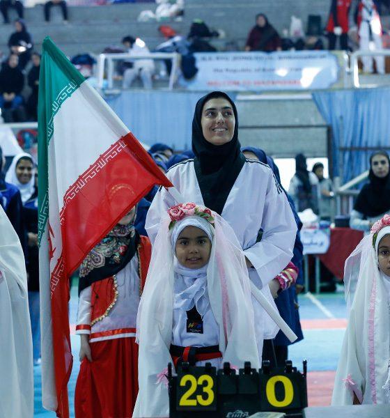 تکواندو نوجوانان دختر کشور در بابلسر آناهیتا توکلی 560x600 تصاویر مسابقات تکواندوی نوجوانان دختر کشور در بابلسر