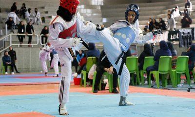 تکواندو نوجوانان دختر کشور در بابلسر 28 400x240 قهرمانی مازندران در تکواندوی نوجوانان کشور در بابلسر | شاپرک نجفی فنی ترین بازیکن شد