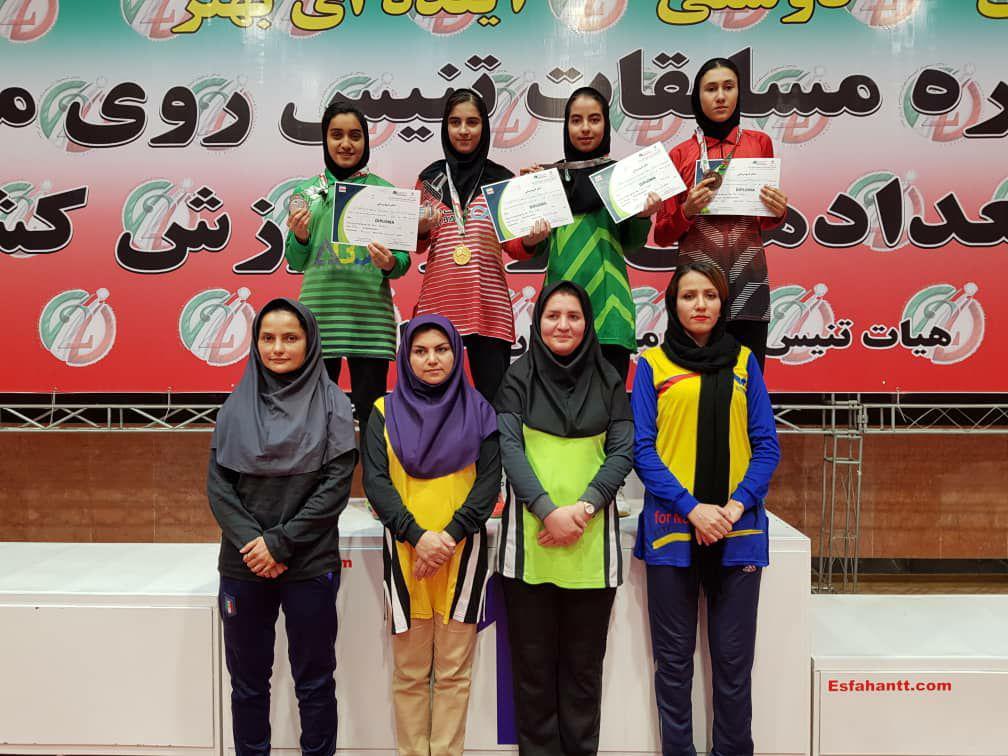 مرحله دوم تور تنیس روی میز جوانان   قهرمانی شیما صفایی با کامبک در فینال