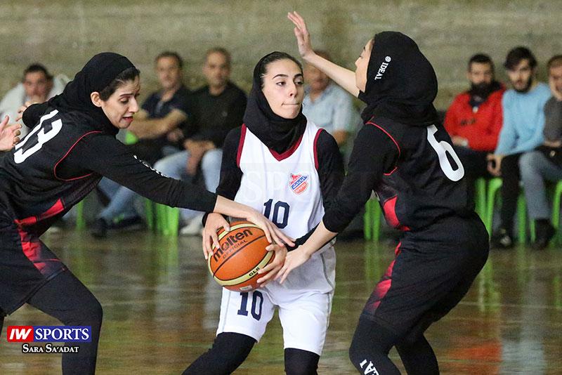 گزارش تصویری | دیدار آرارات و پیام ارتباطات در لیگ دسته اول بسکتبال بانوان