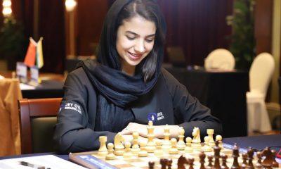 سارا خادم الشریعه 400x240 رتبه ۲۹ سارا خادم الشریعه در مسابقات شطرنج سریع جهان در روسیه
