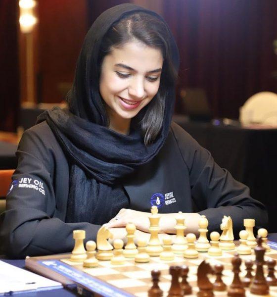 سارا خادم الشریعه 560x600 سارا خادم الشریعه: فعلاً قصد مهاجرت ندارم | به نام تیم ملی مسابقه نمیدهم