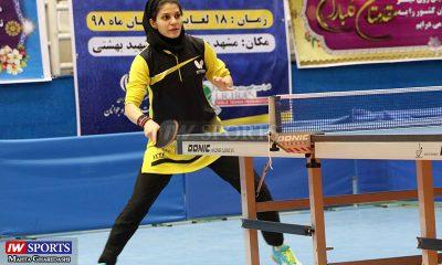 سارا شهسواری تور تنیس روی میز بزرگسالان کشور در مشهد آبان ۹۸ 3 400x240 گزارش تصویری | همراه با سارا شهسواری در مرحله دوم تور تنیس روی میز در مشهد