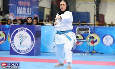 فاطمه صادقی در سوپر لیگ کاراته بانوان 10 400x240 کاتای ایران در اتریش ؛ بی افسانه و کمی ناامید کننده