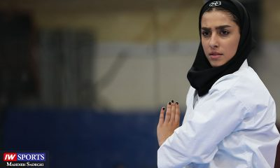 فاطمه صادقی در سوپر لیگ کاراته بانوان 14 400x240 گزارش تصویری | نمایش فاطمه صادقی در هفته نخست سوپر لیگ کاراته