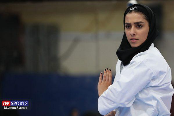 فاطمه صادقی در سوپر لیگ کاراته بانوان 14 599x400 گزارش تصویری | نمایش فاطمه صادقی در هفته نخست سوپر لیگ کاراته