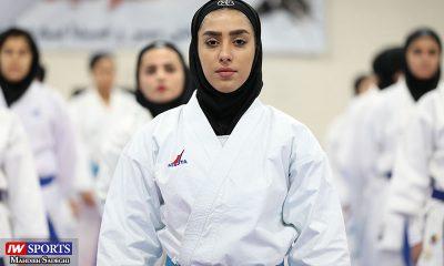 فاطمه صادقی در سوپر لیگ کاراته بانوان 15 400x240 غیبت فاطمه صادقی در کاراته وان اسپانیا | تاخیر در ثبت نام یا صرفه جویی در هزینه؟