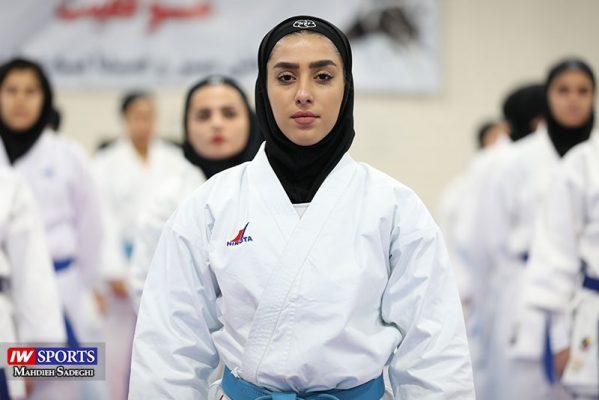 فاطمه صادقی در سوپر لیگ کاراته بانوان 15 599x400 گزارش تصویری | نمایش فاطمه صادقی در هفته نخست سوپر لیگ کاراته