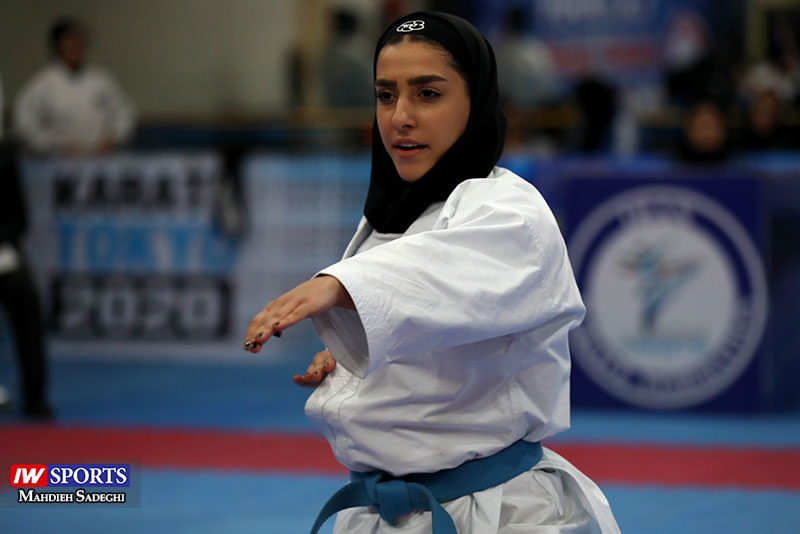 فاطمه صادقی در لیگ جهانی کاراته وان پرتغال به نیمه نهایی نرسید