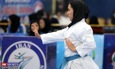 فاطمه صادقی در سوپر لیگ کاراته بانوان 6 400x240 ویزا صادر نشد؛ کاتاروی ایران کاراته وان شیلی را از دست داد