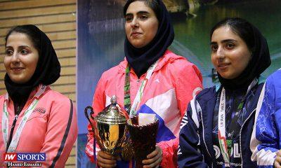 مریم فرعی فاطمه جمالی فر و مینا پرموسوی در مرحله سوم تور تنیس روی میز بزرگسالان کشور در کرج 400x240 دور سوم تور تنیس روی میز در کرج | قهرمانی مریم فرعی و سلطه مطلق میزبان