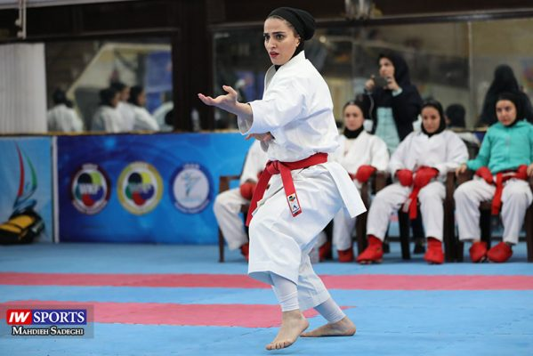 مهسا افسانه در سوپر لیگ کاراته بانوان 1 599x400 گزارش تصویری   همراه با مهسا افسانه در آغاز سوپر لیگ کاراته