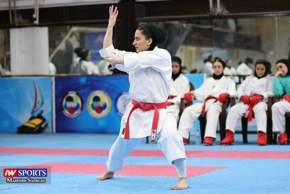 مهسا افسانه در سوپر لیگ کاراته بانوان 3 599x400 گزارش تصویری   همراه با مهسا افسانه در آغاز سوپر لیگ کاراته