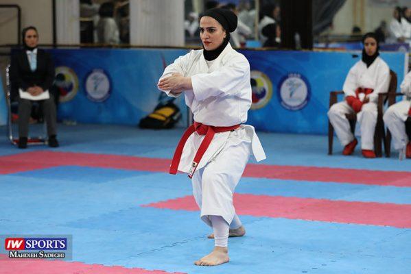 مهسا افسانه در سوپر لیگ کاراته بانوان 5 599x400 گزارش تصویری   همراه با مهسا افسانه در آغاز سوپر لیگ کاراته