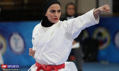 مهسا افسانه در سوپر لیگ کاراته بانوان 6 400x240 گزارش تصویری | همراه با مهسا افسانه در آغاز سوپر لیگ کاراته