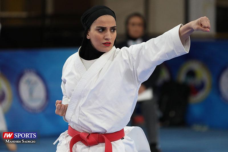 مهسا افسانه در سوپر لیگ کاراته بانوان 6 گزارش تصویری   همراه با مهسا افسانه در آغاز سوپر لیگ کاراته