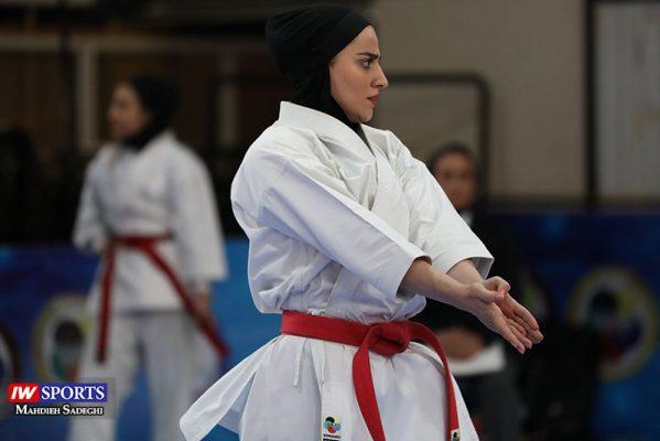 مهسا افسانه در سوپر لیگ کاراته بانوان 7 599x400 گزارش تصویری   همراه با مهسا افسانه در آغاز سوپر لیگ کاراته