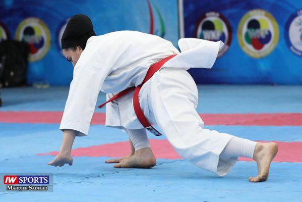 مهسا افسانه در سوپر لیگ کاراته بانوان 8 599x400 گزارش تصویری   همراه با مهسا افسانه در آغاز سوپر لیگ کاراته