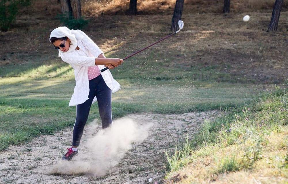 مسابقات گلف بانوان کشور | نازنین شهرکی ؛ همچنان بانوی شماره یک گلف ایران