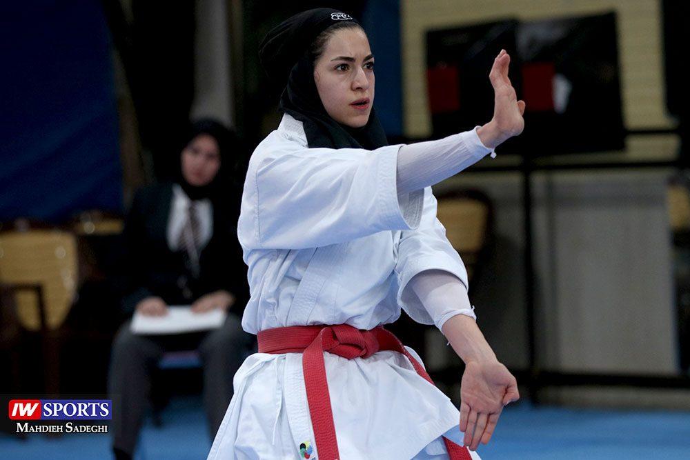 هفته اول لیگ برتر کاراته 13 1000x667 گزارش تصویری   هفته اول لیگ برتر کاراته بانوان در سالن شهید کبگانیان