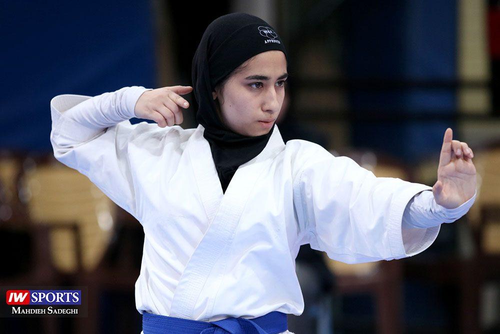 هفته اول لیگ برتر کاراته 14 1000x667 گزارش تصویری   هفته اول لیگ برتر کاراته بانوان در سالن شهید کبگانیان