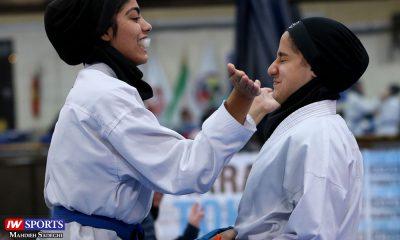 هفته اول لیگ برتر کاراته 16 400x240 گزارش تصویری | هفته اول لیگ برتر کاراته بانوان در سالن شهید کبگانیان