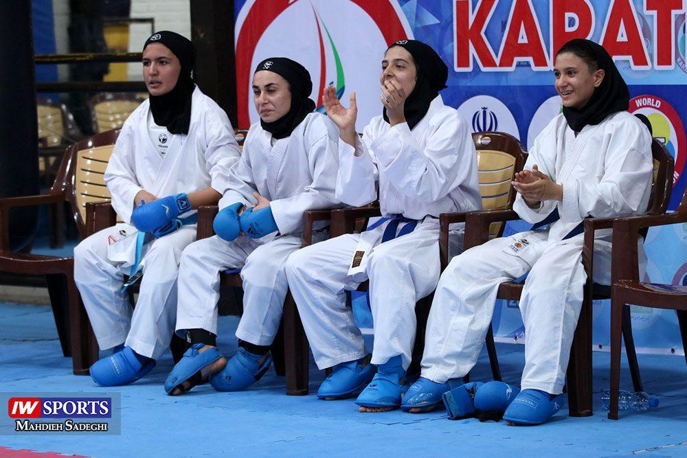 هفته اول لیگ برتر کاراته 22 1000x667 گزارش تصویری   هفته اول لیگ برتر کاراته بانوان در سالن شهید کبگانیان