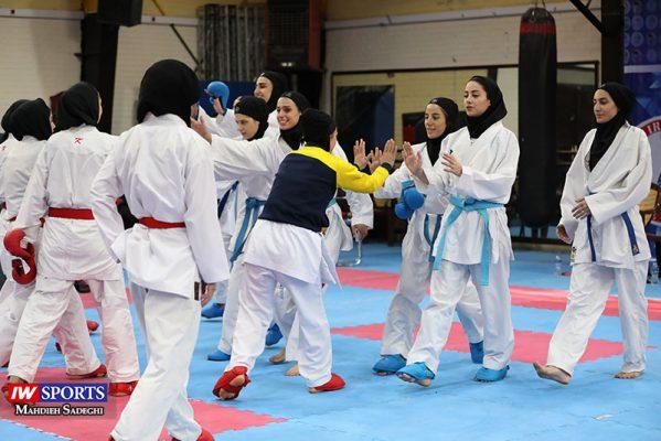 هفته اول و دوم سوپر لیگ کاراته بانوان 16 599x400 گزارش تصویری | هفته اول و دوم سوپر لیگ کاراته بانوان