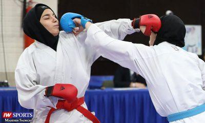 هفته اول و دوم سوپر لیگ کاراته بانوان 6 400x240 هفته دوم سوپر لیگ کاراته | رقابت شانه به شانه دانشگاه آزاد و هیئت اصفهان در صدر