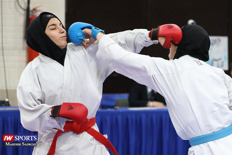 هفته دوم سوپر لیگ کاراته | رقابت شانه به شانه دانشگاه آزاد و هیئت اصفهان در صدر