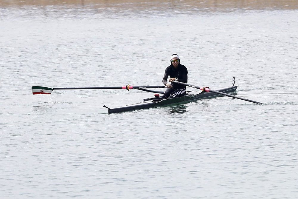 آخرین وضعیت نازنین ملایی : تمرین در دریاچه آزادی با هزینه شخصی