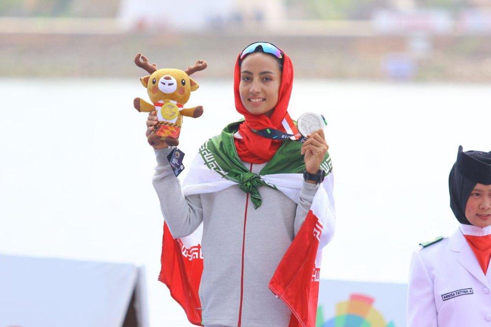 هدیه کاظمی : باید آمادگی خود را حفظ کنیم/ برای کسب سهمیه المپیک می جنگم