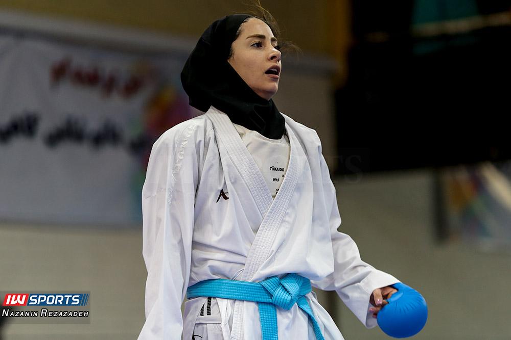 آویشن باقری در هفته سوم سوپر لیگ کاراته بانوان گزارش تصویری | مبارزات کومیته هفته سوم سوپرلیگ کاراته بانوان