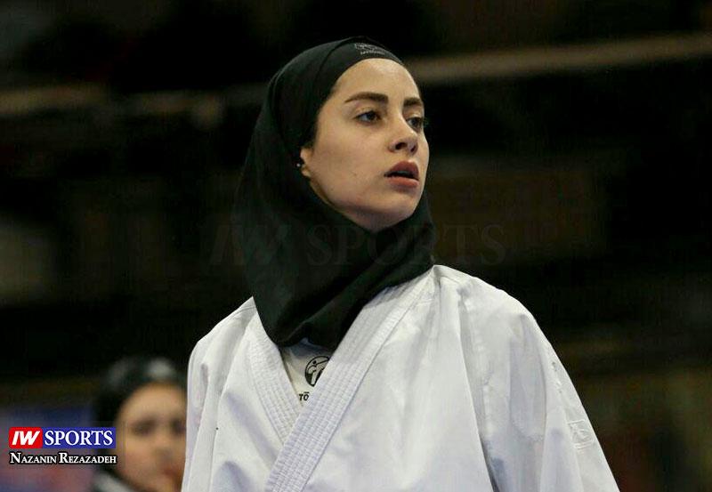 آویشن باقری 3 آویشن باقری در هفته دوم سوپر لیگ کاراته بانوان (تصاویر)